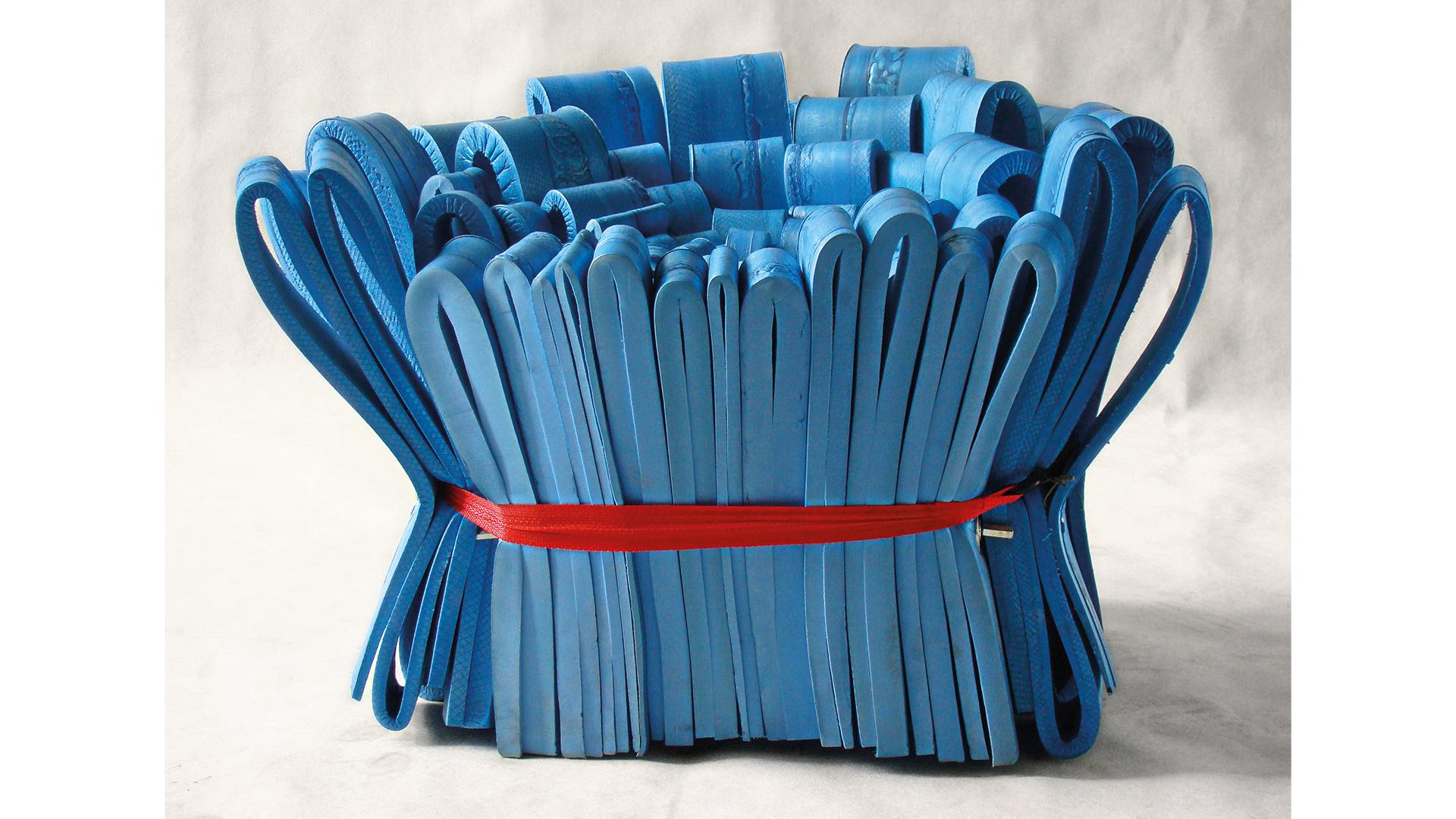 Podstawowym surowcem na <em>Kardynał</em> były poprodukcyjne odpady tworzywa sztucznego.