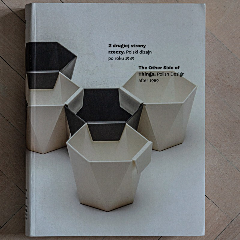 «The Onion XXL» lamp by Daria Burlińska in «The Other Side of Things. Polish Design afer 1989» catalogue by National Museum Krakow