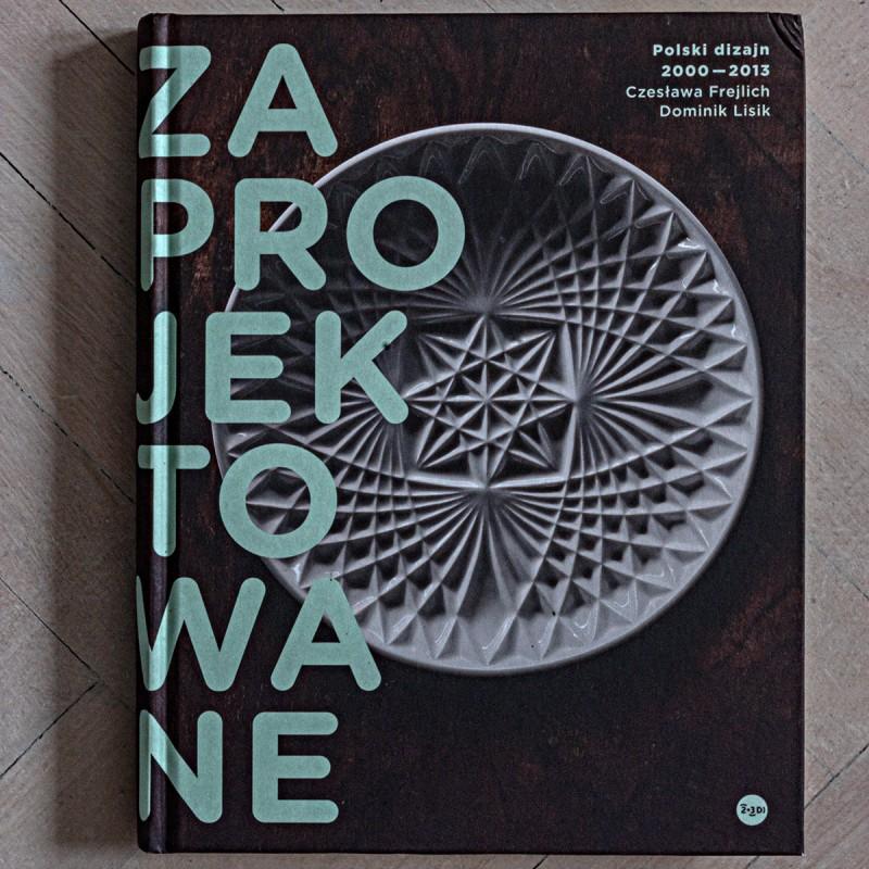 «Bubble Gum» lamp by Daria Burlińska on coffee-table book about Polish design, ed. Czesława Frejlich, Dominik Lisik, pub. <i>2+3D / Adam Mickiewicz Institute</i>